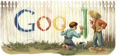 Google Doodles | Google Lit Trips: Reading About Reading | Scoop.it