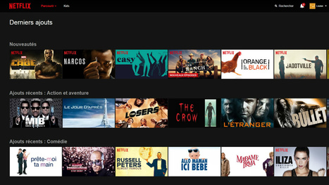 Le catalogue de Netflix est-il en train de fondre ? | BiblioLivre | Scoop.it
