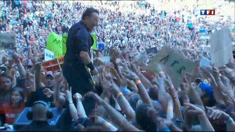 Bruce Springsteen, légende du rock, au stade de France - TF1 | Bruce Springsteen | Scoop.it