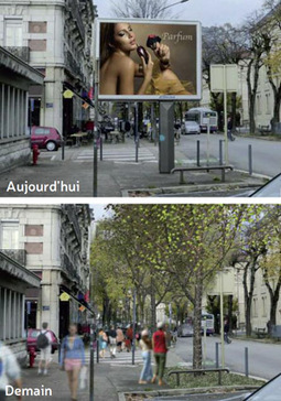 Grenoble réinterroge l'affichage - Brief : Le Mag | Politiscreen | Scoop.it