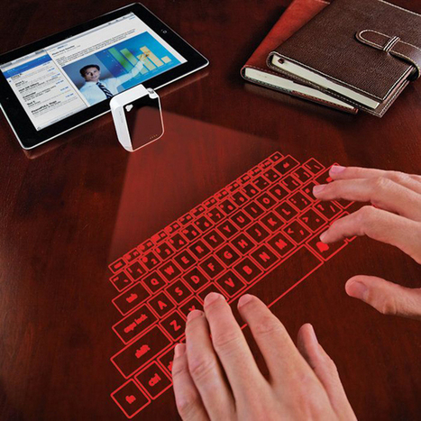 Mobile Keyboard Projects On Any Surface & Fits On A Keychain [Future Of Work] - PSFK | Futurewaves | Scoop.it