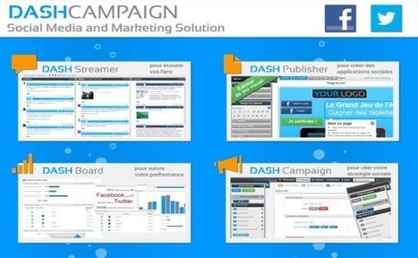 La startup du jour : Dash Campaign, pour gérer ses campagnes de marketing social dans le cloud | Tourisme et marketing | Scoop.it