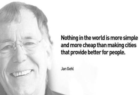 Concevoir la ville à échelle humaine, selon Jan Gehl | Nouveaux paradigmes | Scoop.it