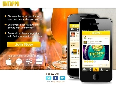 Untappd, the social media for beer lovers   International Beer Market Insights   Scoop.it