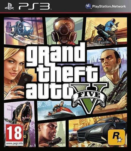 Grand Theft Auto V (EUR) PS3 ISO Free Download