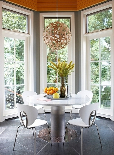 Modern Dining Table Chairs For The Stylish Contemporary Home | Designing Interiors | Scoop.it