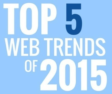 Top 5 Website Design Trends for 2015 [INFOGRAPHIC] | A DIGITAL WORLD | Scoop.it