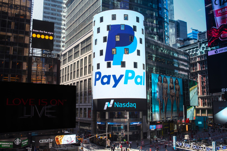 Dès son entrée en bourse (>$40), PayPal vaut déjà bien plus qu'eBay ..! | Actualité de l'E-COMMERCE et du M-COMMERCE | Scoop.it