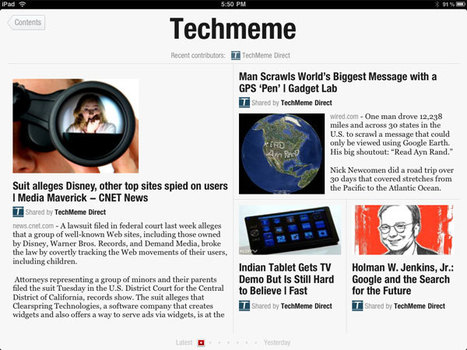How to Add Techmeme to Flipboard | Sean Percival's Blog | Flipboard | Scoop.it