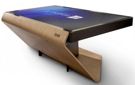 Kineti : la table tactile idéale pour votre salon | Hightech, domotique, robotique et objets connectés sur le Net | Scoop.it