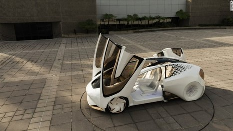 Toyota's far-out vision for the car of the future | Future Trends and Advances In Education and Technology | Scoop.it