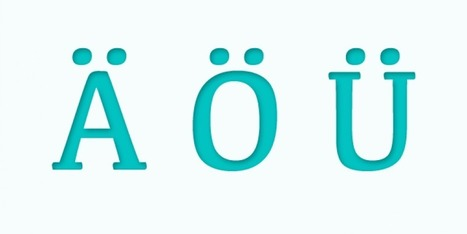 11 Facts Yü Should Know About the Umlaut | German learning resources and ideas | Scoop.it