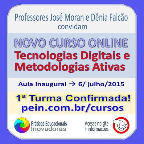 Última chamada  Curso Tecnologias Digitais e Metodologias Ativas 095b099014