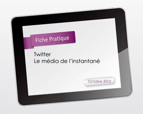 Guide Twitter pour débutants : le média de l'instantané | WEBOLUTION! | Scoop.it