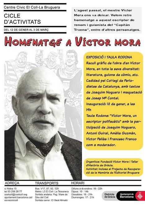 Cicle d'homenatge a Víctor Mora (Capitán Trueno)   Plaça Lesseps   Scoop.it