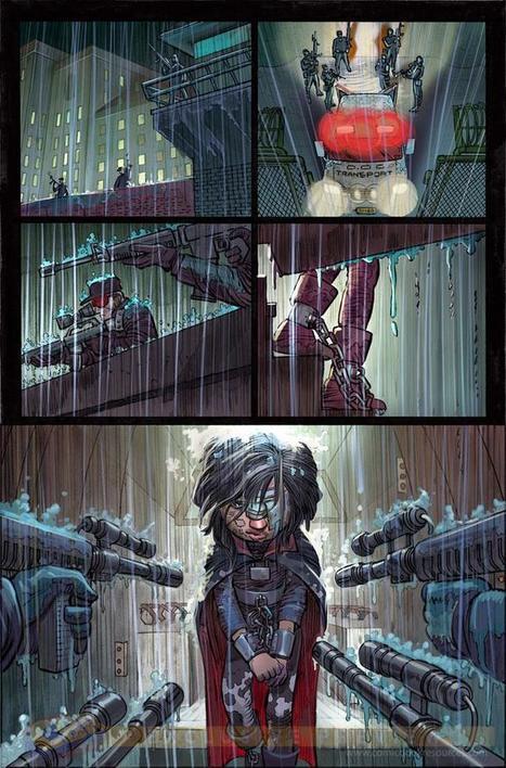 COMICS: First Look At Artwork From Mark Millar And John Romita Jr.'s KICK-ASS 3   Geek out   Scoop.it