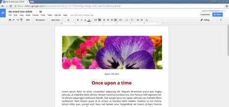 Google Doc Publisher - publish good looking Google Docs | technologies | Scoop.it