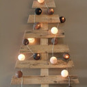 Christmas trees made ​​with pallets | DIY pallet furniture | pallets furniture | Scoop.it