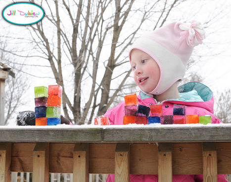 colored ice blocks | Meet the Dubiens | Learn through Play - pre-K | Scoop.it