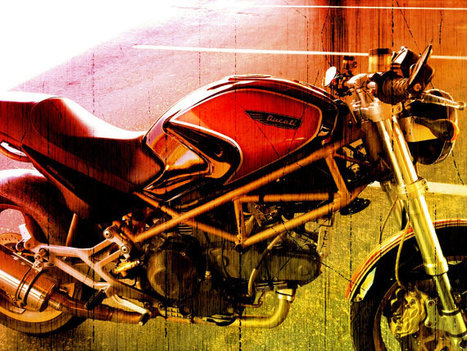 Ducati Motorcycle |  IronArtistFineArt | Etsy.com | Ductalk Ducati News | Scoop.it