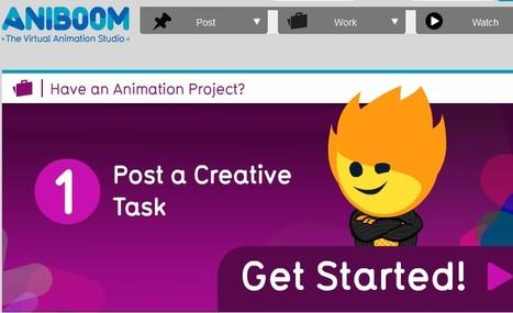 Animation virtual Studio - Aniboom online | 1-MegaAulas - Ferramentas Educativas WEB 2.0 | Scoop.it