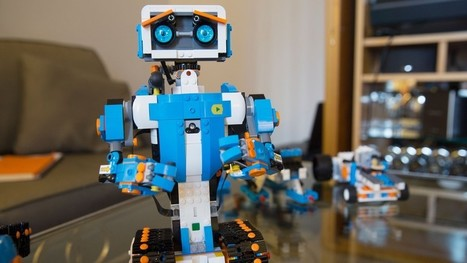 Lego Boost is robot building for the rest of us | relevant entertainment | Scoop.it