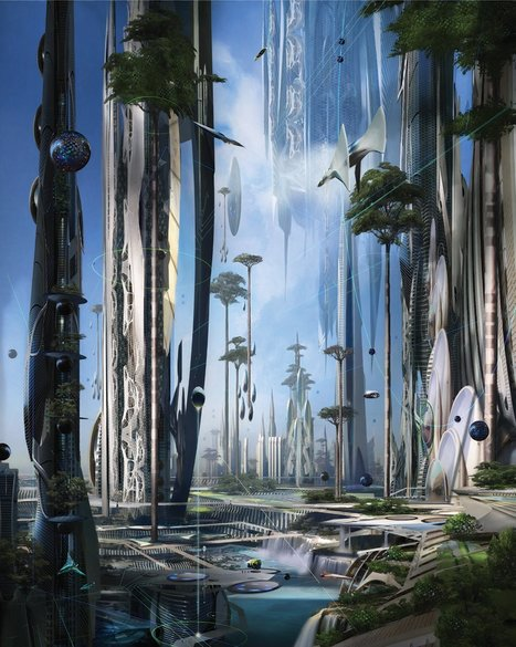 Today's Best Science Fiction Writers Imagine How Life Will Be | writing scifi | Scoop.it