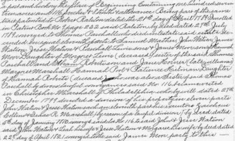 Midwestern Microhistory: A Genealogy Blog: Giving Thanks for Pennsylvania Deeds | Midwestern local history and genealogy | Scoop.it