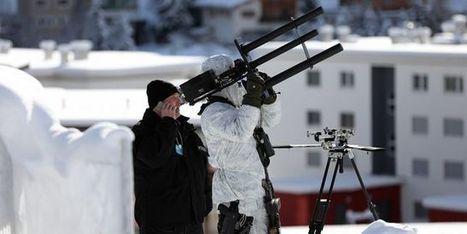 Un fusil antidrone veille sur le sommet de Davos | Drone | Scoop.it