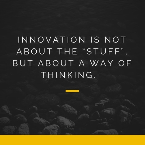 What Innovation Is and Isn't | Linking Literacy & Learning: Research, Reflection, and Practice | Scoop.it