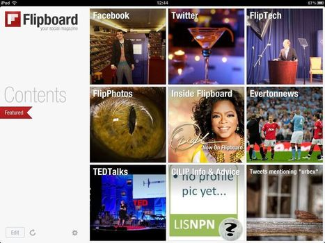 News curation apps for the iPad | Social Media Content Curation | Scoop.it
