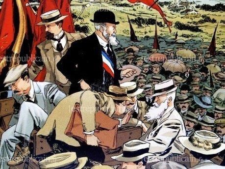 Ils ont dessiné Jaurès! - Nonfiction | BD et histoire | Scoop.it