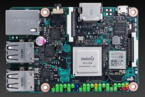 ASUS Tinker Board is a Raspberry Pi 3 Alternative based on Rockchip RK3288 Processor | Embedded Systems News | Scoop.it