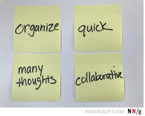 Affinity Diagramming Collaboratively Sort Ux F