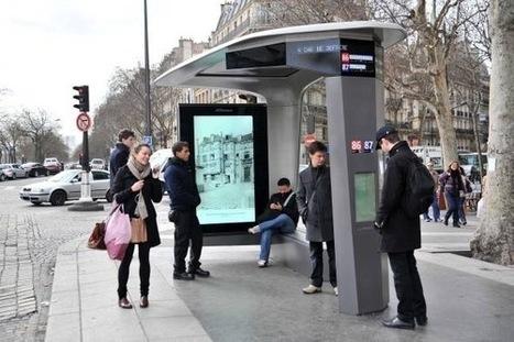Mobilier urbain intelligent, au-delà des services : l'information pour tous.   Objets connectés - Usages enrichis   Scoop.it