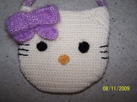 crochet hello kitty pattern tutorial - YouTube | 350x467
