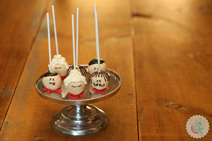 Lottie and Lil Blog » Severed Head Cake Pops | Cake pop e dintorni | Scoop.it
