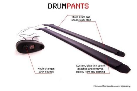 DrumPants, A Wearable Sensor Kit for Making Music by Hand Drumming | Music Education | Scoop.it