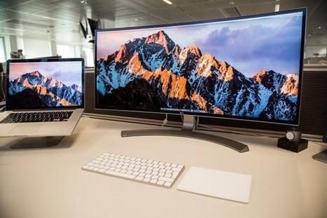 Test de l'écran 34″ Thunderbolt de LG, la démesure au service de la productivité   Belgium-iPhone   Gadgets - Hightech   Scoop.it