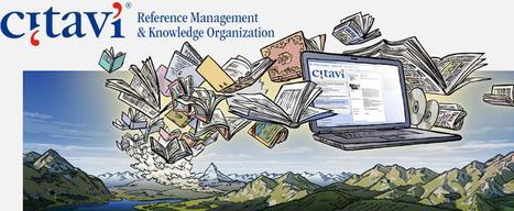 Citavi – Reference Management and Knowledge Organization   SocialMediaDesign   Scoop.it