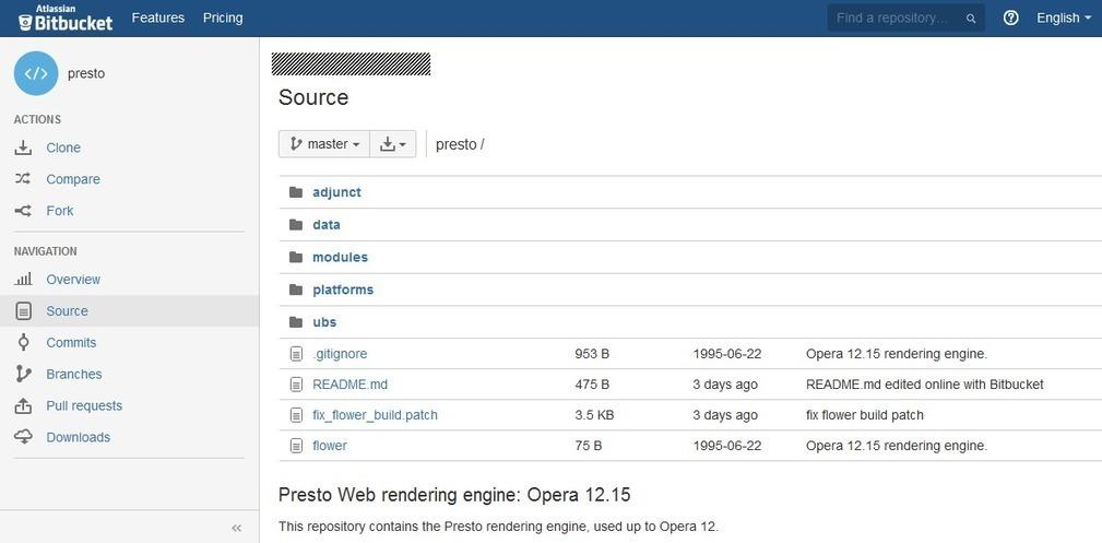 Opera Presto Source Code Leaks Online | Cyber S