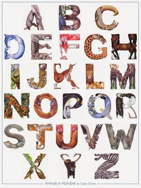 abecedario+animal_Casey+Girard.jpg (600×800) | Literacia no Jardim de Infância | Scoop.it
