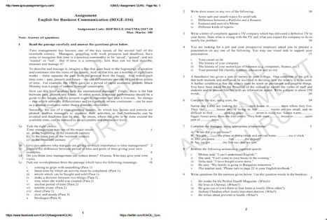bege 104 solved assignment 2017 18 free download