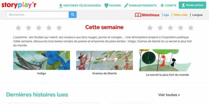 Storyplayr, bibliothèque numérique jeunesse | TIC et TICE mais... en français | Scoop.it