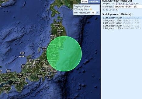 Violente secousse au Nord Est du Japon ressentie sur de nombreuses régions | Japan Quake Map | Japon : séisme, tsunami & conséquences | Scoop.it