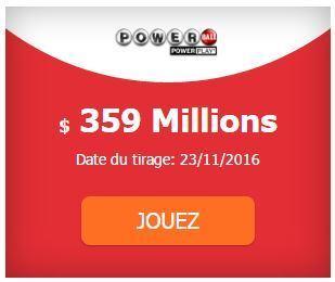 359 000 000 $ au #Powerball | Pariez avec ASTROQUINTE | Scoop.it