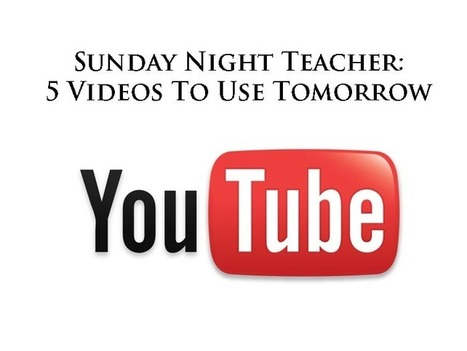 Sunday Night Teacher: 5 Videos To Motivate Students   Learning Organizations   Scoop.it
