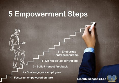 Improve Empowerment of Your Employees | Creativity, innovation and team building. | Scoop.it