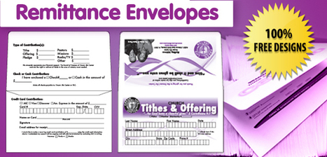 Design Your Own Offering Envelopes Free Templates Kjv Com
