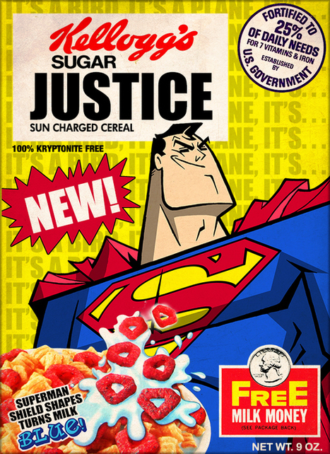 These Superman Cereal Boxes Should Be Real | Geek On | Scoop.it